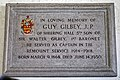 Church of St Mary the Virgin, Sheering, Essex ~ Guy Gilbey (1868-1930) memorial plaque.jpg