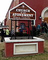 Church of the Atonement (Crooksville, Ohio) - sign and original bell.jpg