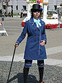 Ciel Phantomhive in blue suit cosplayer at 2010 NCCBF 2010-04-18 2.JPG