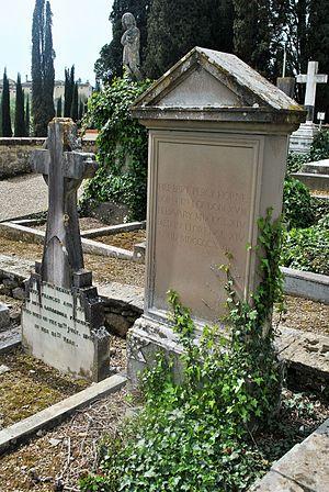 Herbert Horne - Cimitero degli Allori, Herbert Percy Horne