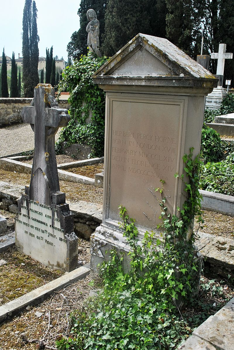 Cimitero degli Allori, Herbert Percy Horne.jpg