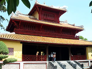 Gate of Thế Miếu (Temple of Generations) within the Citadel of Huế