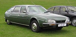 Citroën CX - Image: Citroen CX Prestige long wheel base 2347cc March 1983