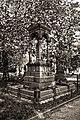 City of London Cemetery Payne Family grave canopied granite monument 04 DxO FilmPack Ilford XP2 Expresso.jpg