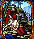 Витраж у Цркви Сент-Етроп у Клермон-Ферану (Пиј де Дом, Француска)