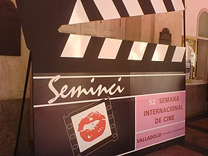 Seminci - Giant clapperboard of the SEMINCI 2007