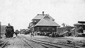 Passenger Depot, Clarksdale, Mississippi (Heart of the Delta)