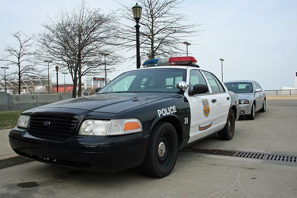 Cleveland Police car