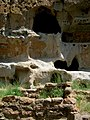 Cliff dwellings at Bandelier National Monument.jpg