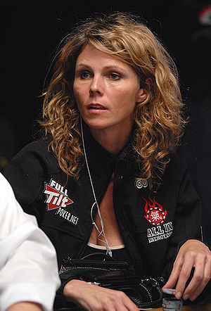Clonie Gowen - Clonie Gowen at the 2008 World Series of Poker