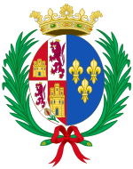 Coat of Arms of Elisabeth of France (1545-1568), Queen Consort of Spain.svg