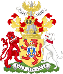 Coat of arms of the Duke of Fife since 2017.png