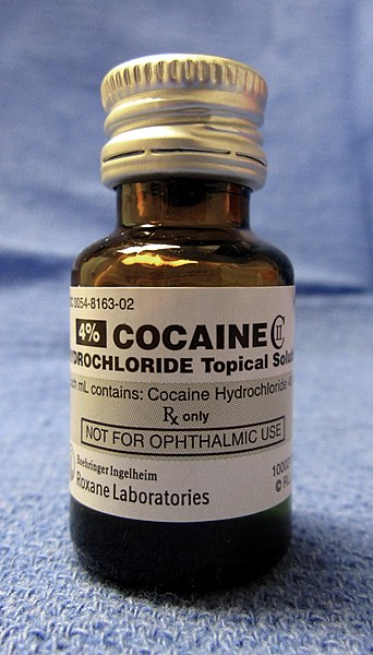 File:Cocaine hydrochloride CII for medicinal use.jpg