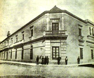 Concepción del Uruguay - Secondary school, circa 1900.