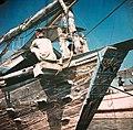 Collectie NMvWereldculturen, TM-10035703, Dia, 'Steven van een Madurese prauw', fotograaf onbekend, 1932-1940.jpg