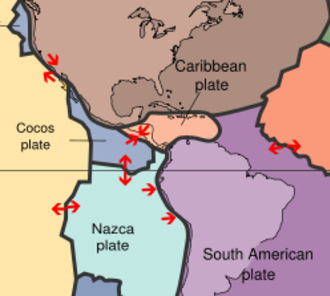 Geology of Colombia - Plate tectonics within Colombia.