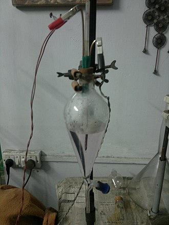 Combustion pipette - Combustion pipette