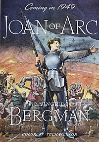 Coming in 1949 - Joan of Arc, starring Ingrid Bergman.jpg