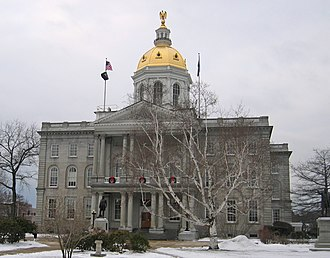 Government of New Hampshire - The New Hampshire State House in Concord