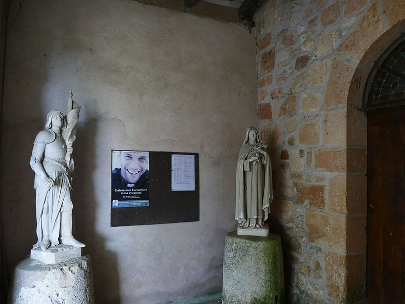 Saint-Peter's church in Condezaygues (Lot-et-Garonne, Aquitaine, France).