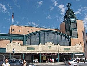 Coney Island–Stillwell Avenue (New York City Subway) - Main entrance through station house