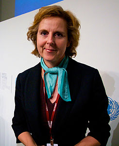 Connie Hedegaard at COP15.jpg