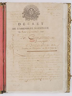 French Constitution of 1791 - French Constitution of 1791.