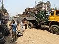 Construction Work on Flyover - Chittagong - Bangladesh (13104053114).jpg