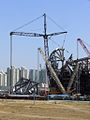 Construction beijing 2008 national stadium 2.jpg