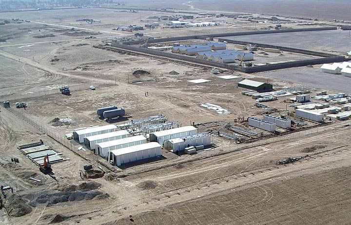 Construction of ANA base in Herat