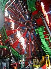 El detector CMS del LHC
