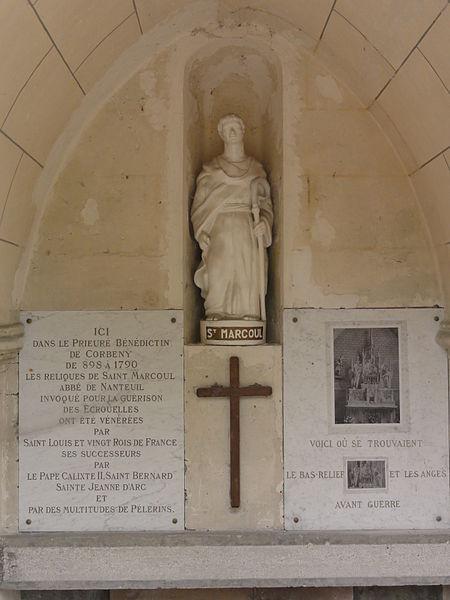 Corbeny (Aisne) oratoire Saint-Marcoul