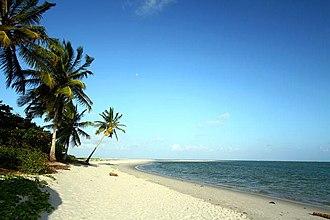 Ilha de Itamaracá - Image: Coroa de Aviao beach
