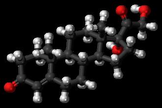 11-Deoxycortisol - Image: Cortodoxone 3D balls