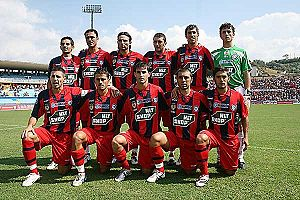 Cosenza Calcio - Cosenza lineup in 2008–09