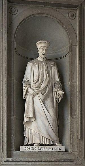 House of Medici - Cosimo Pater patriae, Uffizi Gallery, Florence