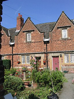 Cossall Almshouses - geograph.org.uk - 60326