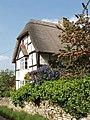 Cottage and garden, Tiddington - geograph.org.uk - 179810.jpg