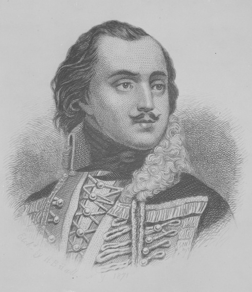 File:Count Casimir Pulaski. Copy of engraving by H. B. Hall, published 1871., ca. 1900 - 1982 - NARA - 530955.tif