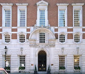 Country Life (magazine) - Hudson House, the former Country Life offices in Southampton Street, London. Designed by Edwin Lutyens and built in 1904.