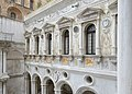 Courtyard of the Doges Palace Venice Renaissance windows.jpg