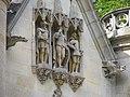 Coye-la-Forêt.Château de la Reine Blanche.3 chevaliers et gragouilles.jpg