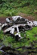 Crashed Dornier Do 17M-1 Hansakollen, Maridalen Oslo (4)