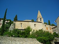 Crestet - église Saint-Sauveur.JPG