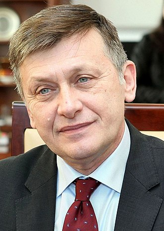 2009 European Parliament election in Romania - Image: Crin Antonescu Senate of Poland 01 (cropped)