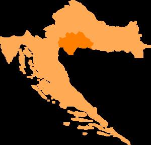 Banovina (region) - Image: Croatia Sisak Moslavina