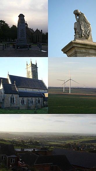 Crook, County Durham - Image: Crookcollage