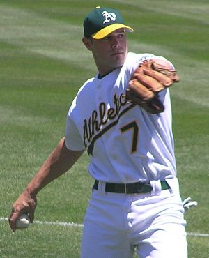 Bobby Crosby - Crosby with the Oakland Athletics