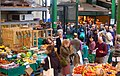 Crowds shopping at Borough market, south London - geograph.org.uk - 1522109.jpg
