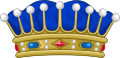 Crown of a Count of France.svg